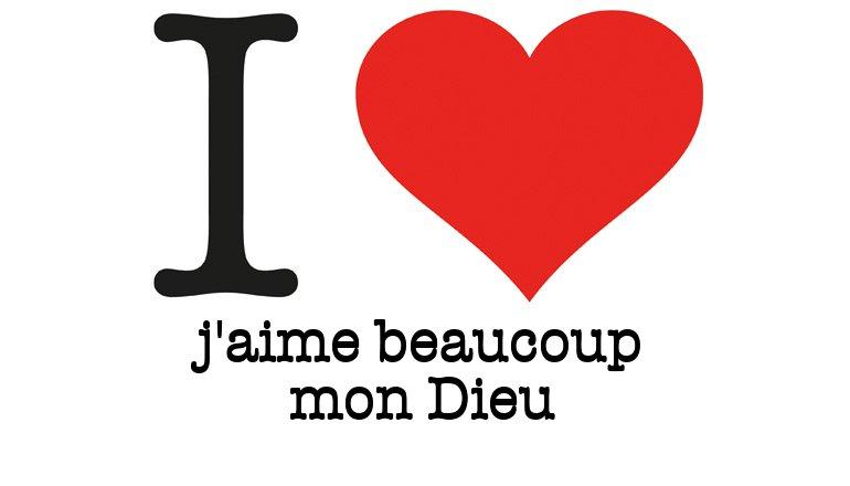 Bien-aimé I Love J'aime beaucoup mon Dieu - I Love You generator, générateur  CR15