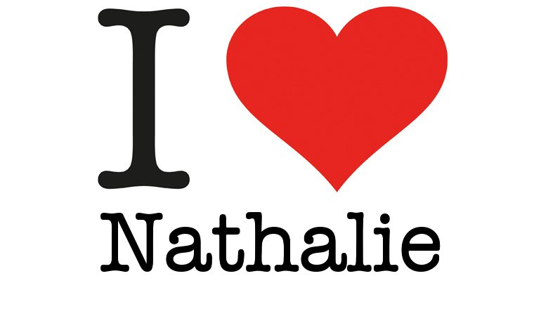 Galerry Love Nathalie I Love You generator générateur de I love You I